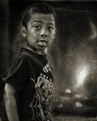 DSC_0120 GoBoom (P Shooter) Tags: boy blackandwhite texture composite kid eyes nikon spiderman mexican fresno layer paintshoppro littleboy topaz mexicanamerican fresnocalifornia nikond90 cityoffresno topazadjust topazremask paintshopprox6