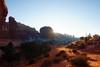 archesmorning (skaspyn) Tags: winter light sunrise desert textures highdesert moab redrock northwindowarch januarylight