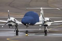 G-OPFR Diamond D-44 (Andy Crossley - Apronmedia.com) Tags: light rain airplane airport aircraft diamond coventry crossley egbe d44 gopfr apronmedia
