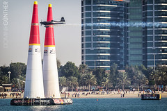 Red Bull Air Race, Abu Dhabi (domingo_95) Tags: world red beach water sport race plane canon eos flying waterfront aircraft air united flight bull pylon emirates arab corniche motor abu dhabi fastest pilot planespotting 60d