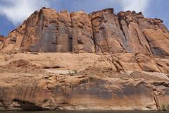 Glen Canyon - Arizona (Lucie Maru) Tags: red arizona rock canyon boulders page coloradoriver geology glencanyon glencanyondam cryptocrystallinerocks