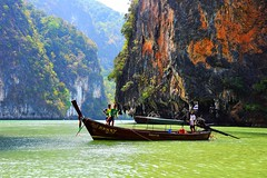 Koh Phanak,  Phang Nga Bay, Thailand (Maria Kotsonia) Tags: water thailand nikon phangngabay kohphanak d3300