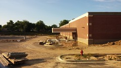 Drive-thru Concrete Installation (Retail Retell) Tags: kroger marketplace v478 hernando ms desoto county retail construction expansion project