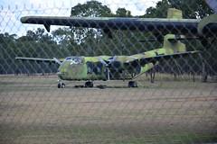 DSC_0927 (LoxPix2) Tags: clouds vintage landscape airport aircraft australia queensland nomad caribou oakey loxpix australianarmyflyingmuseum