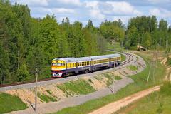 DMU (Konstantin D.) Tags: railroad train spring rail railway zug latvia commuter passenger bahn personen rvr latvija pavasaris  dmu  fruhling   lettonie  ldz  dzelzce dr1a vilciens otwa raii dzelzcels pasazieru 1   drabei dizelvilciens