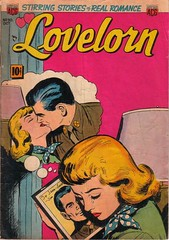 Lovelorn 30 (Michael Vance1) Tags: art artist anthology comics comicbooks cartoonist silverage dating woman romance relationships love lovers man marriage