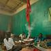 Men chewing during a sufi ceremony, Harari region, Harar, Ethiopia