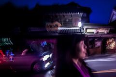 Nuits (www.danbouteiller.com) Tags: street city urban woman streets car japan night de japanese tokyo photo femme streetlife streetscene voiture bynight saitama kawagoe rue japon ville japonais streetshot photoderue 14mm japonaise samyang samyang14mm