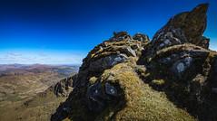 Rocks at the top of the mountain (GDDigitalArt) Tags: nature sunshine rural scotland daylight outdoor hiking benlomond lochlomond