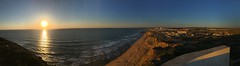 Santa Cruz Sunset (Miguel_Vilhena) Tags: santa sunset portugal panoramic cruz torres iphone oeste vedras 6s