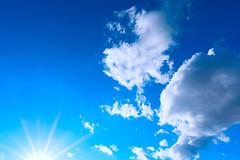 sky light (@Katerina Log) Tags: blue light sky cloud sun nature clouds outdoor sony sonya77 1835mmf18 katerinalog