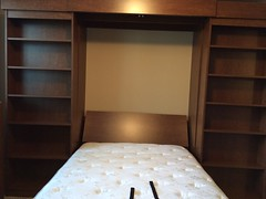 IMG_5411 (murphybeddepot) Tags: library storage pinta murphybed spacesaving wallbed murphybeddepot libarybed