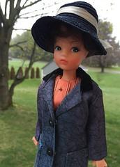Rainy Days (Foxy Belle) Tags: doll craft tammy clone raincoat sindy