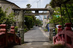 (LAYDOCK) Tags: 50mm nikon saga  shintoshrine d610  sigma50mmf14exdghsm   hizentorii ushijimatenmangushrine