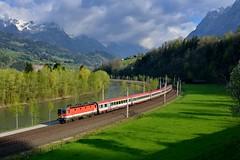 """1144 069 """"BB"""" Bischofshofen (Matthias Greinwald) Tags: zug bb bundesbahn salzach 069 1144 tauern sterreichische personenzug salzachtal"""