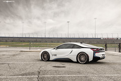 m615-brushed-frozen-latte-bmw-i8-7 (AvantGardeWheels) Tags: avant garde wheels agwheels avantgarde bmw i8 electric lowered vibe motorsports m615 brushed frozen latte bespoke finish finishing rotary forged flowform flow form wheel rim rims design designs concave staggered 22x9 22x105 custom rotaryforged art advanced technology spun