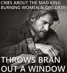 #GameOfThrones Jaime Lannister Throws Bran Out OF Window   Double Standards :P   Game Of Thrones Memes and Quotes #GameofThrones #GoT #Tyrion #Lannister #Arya #Stark #Daenerys #Targaryen #JonSnow #Hodor #Humor (GameofThronesFreak) Tags: snow game jon humor arya got stark thrones daenerys tyrion lannister targaryen hodor