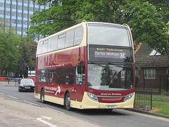 East Yorkshire 779 A17EYC Rawling Way, Hull on X4 (1280x960) (dearingbuspix) Tags: eastyorkshire 779 eyms wicstunexpress a17eyc sn61dfk