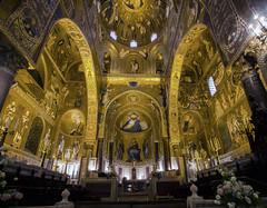 Cappella Palatina (Fil.ippo) Tags: palermo sicilia cappellapalatina palatinechapel palazzodeinormanni royalpalace interior bizantine d7000 filippo filippobianchi sigma1020