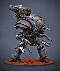 Knight Errant (Mr. Poom) Tags: cult knight gamesworkshop sarum forgeworld redjak mechanicum