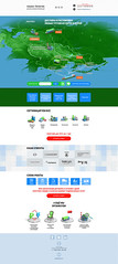 Website for company Alliance Logistik (infostep_infostep) Tags: illustration website informationdesign infographics customsclearance infostep alliancelogistik