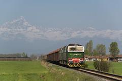 DB CARGO ITALIA (giovannigrasso71) Tags: db cargo italia de520 d520 de753 fnm schenker diesel caterpillar giovanni grasso nikon d610 verzuolo torino orbassano