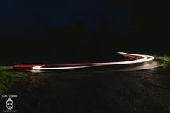 U-Bend (Chris Haddleton Photography) Tags: road light color colour nature car night dark nikon long exposure trails d800 14mm samyang