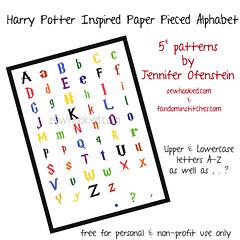 Harry Potter Alphabet (Jennifer Ofenstein (sewhooked.com)) Tags: harrypotter alphabet paperpieced craftsy paperpiecing harrypotterquilt harrypotterpaperpiecing alphabetquilt fandominstitches fandomquilt
