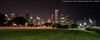 Grant Park and Lake Shore Drive (DSC08428) (Michael.Lee.Pics.NYC) Tags: longexposure chicago architecture night cityscape sony lakemichigan lakeshoredrive grantpark buckinghamfountain memorialday lighttrail 2016 traffictrail a7rm2 zeissloxia21mmf28