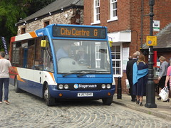 24 June 2016 Exeter (2) (togetherthroughlife) Tags: bus june g devon exeter stagecoach 2016 exeterquay 47600 yj07ehx