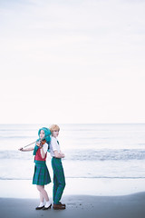 AnimeNext - Haruka & Michiru (kuchi_zuke) Tags: summer moon beach cosplay haruka atlanticcity cosplayer sailor sailormoon schooluniform michiru seifuku animenext sailoruranus sailorneptune anext cosplayphotography anext2016 animenext2016