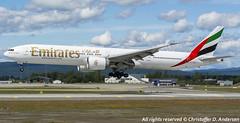A6-EBV (5) (Christoffer Andersen) Tags: oslo airplane aviation emirates ek boeing osl b777 b777300 b777300er passengerplanes osloairportgardermoen