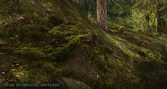 New 3D Ground Texture - Mossy Rocks (Vita Camino) Tags: new terrain texture high place camino ground sl secondlife resolution markt sim builder vita giardini creations 2016