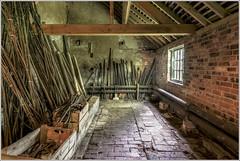 Calke Abbey Mushroom House (Darwinsgift) Tags: house abbey estate g derbyshire national trust 20mm nikkor f18 hdr calke