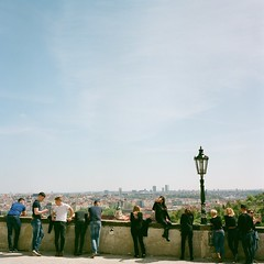 View point (Saori_) Tags: flower film rolleiflex czech prague praha