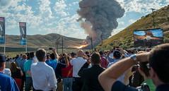 Booster Test for Space Launch System Rocket (NHQ201606280016) (NASA HQ PHOTO) Tags: usa utah nasa promontory testarea billingalls spacelaunchsystemsls qualificationmotortestqm2