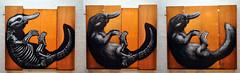roa platypus (tb_frbnk) Tags: streetart graffiti collingwood fineart melbourne exhibition urbanart platypus roa melbournegraffiti belgiumgraffiti hicsvntdracones allthoseshapes