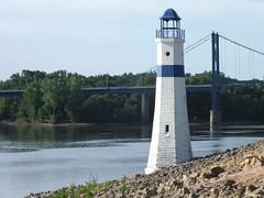 River Front (stillphototheater) Tags: lighthouse riverfront clintoniowa stillphototheater