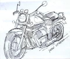 motocicleta en lapicero (ivanutrera) Tags: drawing moto motorcycle draw dibujo motocicleta lapicero boligrafo dibujoenlapicero dibujoalapicero dibujoenboligrafo