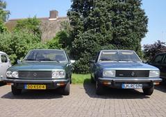 Renault 30 TX & 20 TS (Fuego 81) Tags: 30 tx renault 20 1980 r30 r20 00ksx4 lmrc57h