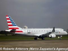 Embraer E-175 (E-170-200/LR) (Marco Zappatori's Agency) Tags: embraer e175 americaneagle americanairlines ptetw robertoantenore marcozappatorisagency