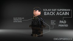 Solar Suit Superman (CyclopsBricks) Tags: robin digital private soldier army solar 3d official force lego military air uv wwii navy pad machine superman suit company v batman marines airforce custom militia printed goon pmc nightwing mercenary cyclopsbricks