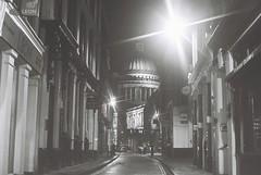 St. Pauls Cathedral (goodfella2459) Tags: street white black london history film st night 35mm lens 50mm jones nikon tour cathedral kodak trix ghost pauls richard 400 af nikkor milf f4 f14d