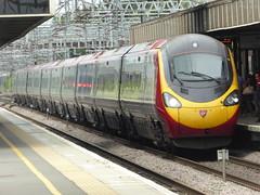390126 arrives at Milton Keynes Central (4/7/16) (*ECMLexpress*) Tags: west coast central trains class virgin emu milton keynes 390 pendolino wcml 390126