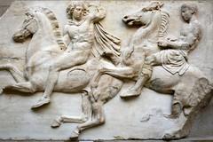 England 2016  British Museum  Horse riding (Michiel2005) Tags: uk greatbritain england horse man london museum greek unitedkingdom britain marbles marble elgin britishmuseum engeland londen paard jongen beeldhouwwerk vk grootbrittanni verenigdkoninkrijk