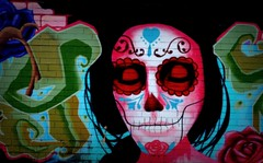 Silence is Coal Den (flowrwolf) Tags: red portrait streetart black color colour colors wall blackbackground outside outdoors person skull mural colours nocturnal bright outdoor wallart nighttime brickwall marisol aerosolart morwell paintedskull paintedbrickwall 52in2016 116in2016 116picturesin2016 52picturesin2016 morwellvicau morwellsstreetart muralversuscoalmine advancemorwell 48nightimefor52in2016 99nocturnalfor116in2016 muralinmorwell georgestreetmuralmorwell