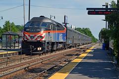 Metra 416 Train 2614 Edgebrook Metra Sta