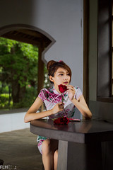 IMG_8594- (monkeyvista) Tags: show girls portrait cute sexy beautiful beauty canon asian photo women asia pretty shoot asians gorgeous models adorable images cutie full frame kawaii oriental sg glamor    6d     gilrs   flh