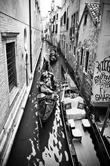 Small canal (Channed) Tags: city travel italy holiday vakantie canal europa europe italia gondola stad itali reizen veneti chantalnederstigt