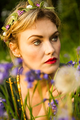 04 (Stephen Paul Photography) Tags: flowers portrait cemetery graveyard bluebells tags medieval lover preraphaelite lostlove
